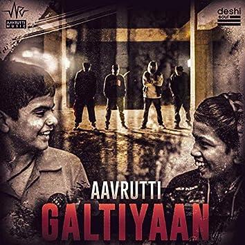 Galtiyaan (feat. Sledge, Saifan, Frenzzy & Sammohit)