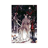Anime Tian Guan Ci Fu Heaven - Póster de lienzo para decoración de dormitorio, paisaje, oficina, decoración de habitación, regalo de 60 x 90 cm