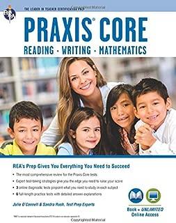 Praxis Core Academic Skills for Educators Tests: Book + Online (PRAXIS Teacher Certification Test Prep)
