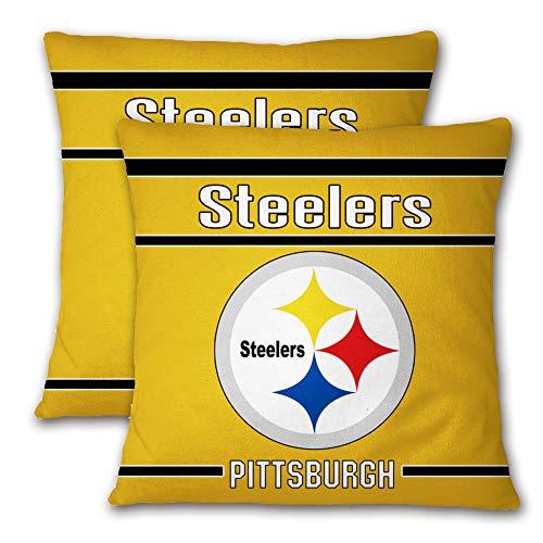 N/B Football Team Pittsburgh Steelers Throw Pillow Cover Home Sofa Decor Sport Logo Pillow case
