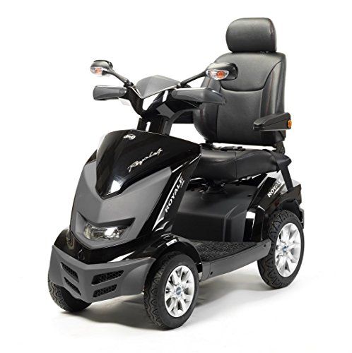 Drive Medical Royale 4 Class 3 Deluxe Heavy Duty 4 Wheel Mobility Scooter - Red
