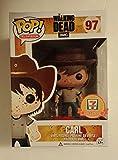 Funko Pop! 7-11 Exclusive The Walking Dead #97 Carl Grimes Blood Splatter