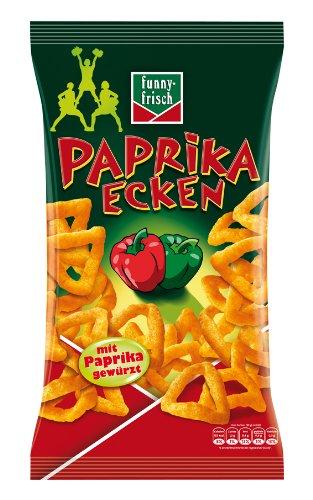 funny-frisch Paprika Ecken, 4er Pack (4 x 75 g)