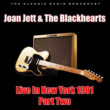 Live In New York 1981 - Part Two (Live)