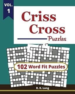 CrissCross Puzzles, Volume 1: 102 Criss-Cross Word Fit Puzzles