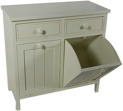 Mueble para debajo del lavabo - 2 puertas y 1 estantería ...