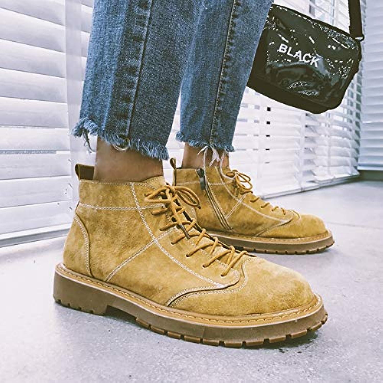 LOVDRAM Stiefel Mnner Men's Autumn Short Stiefel Casual schuhe Men's Martin Stiefel