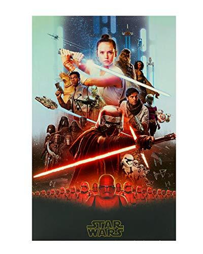 UK Greetings Star Wars Geburtstagskarte – Geburtstagskarte Star Wars – Star Wars Grußkarte – Geburtstagskarte für Jungen – Geburtstagskarte für Mädchen – Geburtstagsgeschenkkarte, 646197-0-1