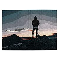 500ピース ジグソーパズル 木製 パズル 自然風景 子供用 大人用 初心者向け ギフト プレゼント 減压 パズルのピース 完成サイズ(52.2cm *38.5cm)