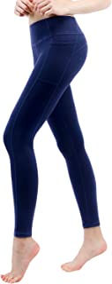 """TaiBid Women's High Waist Yoga Workout Leggings Two Side Pocket 5.5"""" Mobile Phone, Size S-XL"""