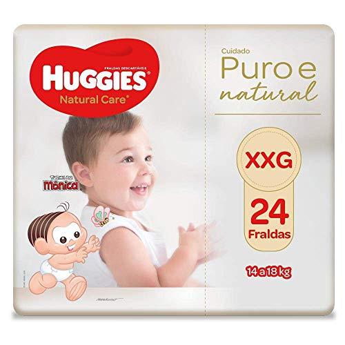 Fralda Huggies Natural Care Xxg, 24 Fraldas, Huggies