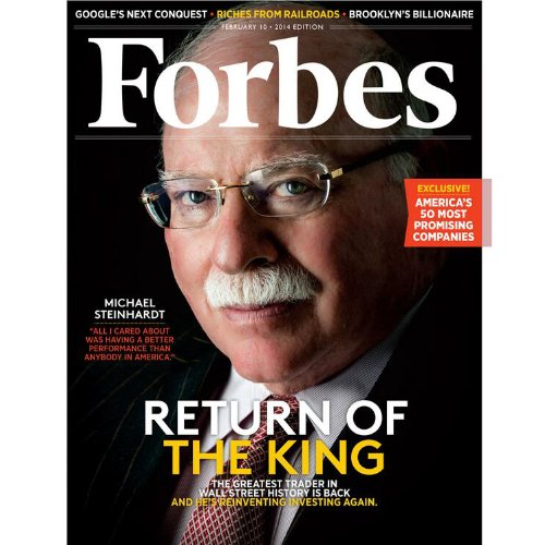 Forbes, January 27, 2014 audiobook cover art