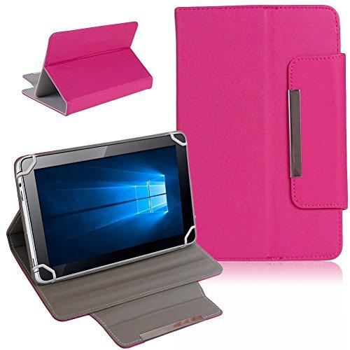 UC-Express Telekom Puls Tablet Tasche Hülle Schutzhülle Hülle Cover Bag NAUCI, Farben:Pink