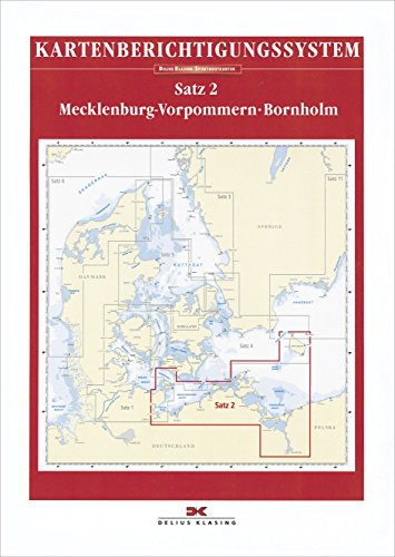 Berichtigung Sportbootkarten Satz 2: Mecklenburg-Vorpommern - Bornholm (Ausgabe 2021): Mit Lübecker Bucht und Stettiner Haff