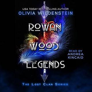Rowan Wood Legends audiobook cover art