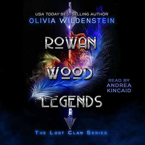 Rowan Wood Legends audiobook cover art
