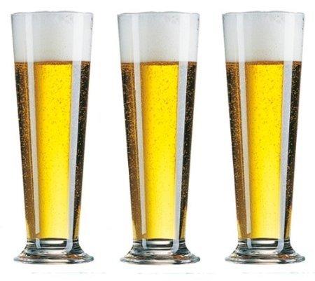 6 Linz Biertulpen Biergläser Biertulpe Bier Brauerei Glas Gläser Berlin 0,3 Ohne Eichstrich 39 cl