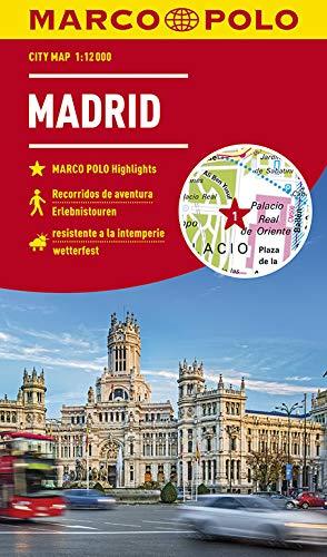 MARCO POLO Cityplan Madrid 1:12 000: Erlebnistouren / wetterfest (MARCO POLO Citypläne)