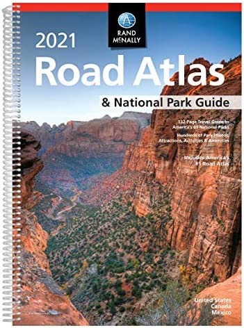 Rand McNally 2021 Road Atlas National Park Guide Rand McNally Road Atlas product image