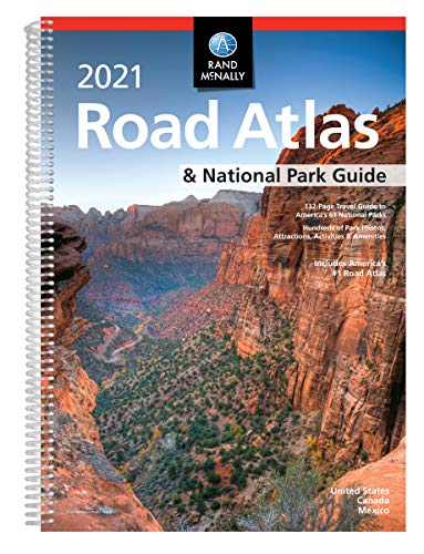 Compare Textbook Prices for Rand McNally 2021 Road Atlas & National Park Guide Rand McNally Road Atlas  ISBN 0070609022390 by Rand McNally