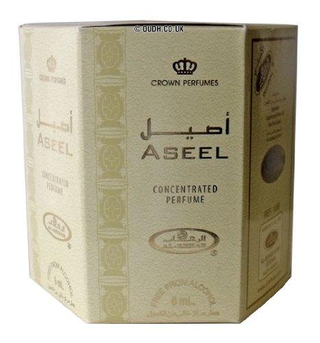 Al Rehab Aseel parfümöl - 6 x 6ml von al rehab