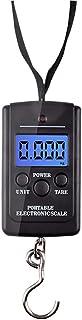 Holataa Báscula de Equipaje 40kg/10g Portátil LCD Básculas Digitales de Cocina para Maletas Equipaje de Viaje (3.3