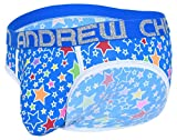 Andrew Christian Pop Stars Brief w/ Almost Naked Azul - M