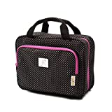 Large Travel Cosmetic Bag For Women - Hanging Travel Toiletry And Makeup Bag...