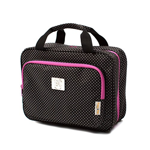 Large Travel Cosmetic Bag For Women - Hanging Travel Toiletry And Makeup Bag With