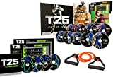 DAKER Fo-cus T25 DVD Videos,25 Minutes Workouts Fitnes Program(Total 19pcs,includ 14 DVDs)