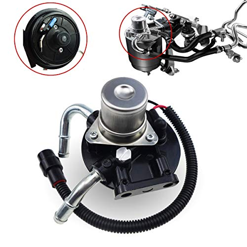 12642623, 6.6 Fuel Filter Head with Hand Fuel Pump Housing and Heater Plug and Air Bleeder Screw for Chevy Silverado GMC Sierra 2500 3500 6.6L V8 Duramax Engine 2005-2012, Fit TP3018 Fuel Filter