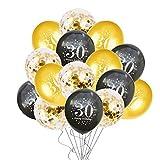 Decoración De Fiesta 1 Set 30Th 40Th 50Th 60Th Decoraciones Para Fiesta De Feliz Cumpleaños Suministros Para Fiestas De Aniversario Para Adultos Servilleta De Plato De Papel Negro Dorado