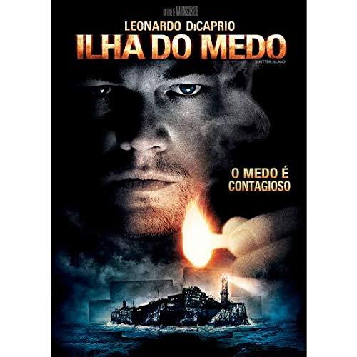 Dvd Ilha do Medo