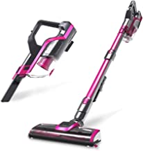 Mini Cordless Vacuum Cleaner, Lightweight Rechargeable Strong Suction High Power Small Wireless Rechargeable Portable Ligh...