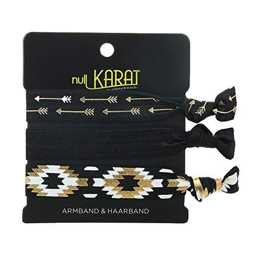 Null Karat Armband/Haarband Ethno elastisch Pfeil Atzteken Festival Festival
