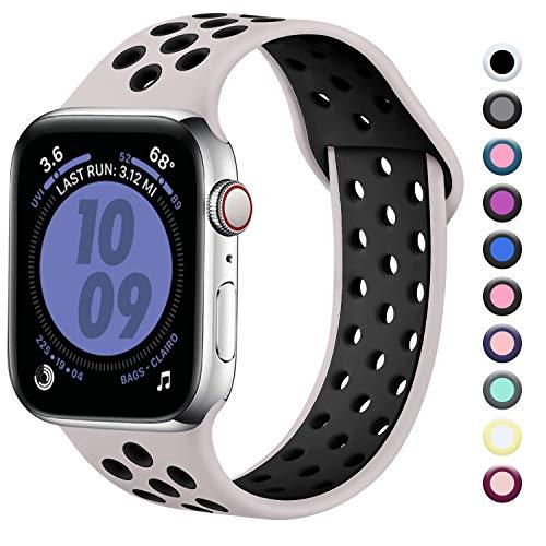 Zekapu Compatibile con Apple Watch Cinturino 38mm 40mm, Cinturino Sport...