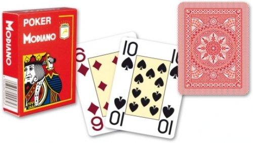 "Original Modiano Turnier-Spielkarten \""Plastico\"" für Poker oder Black Jack, 100{499d4945590df70309b63ad2d04392c4c17bed71650c883f07ec93120c8ec77e} Plastik. Art_311505a"