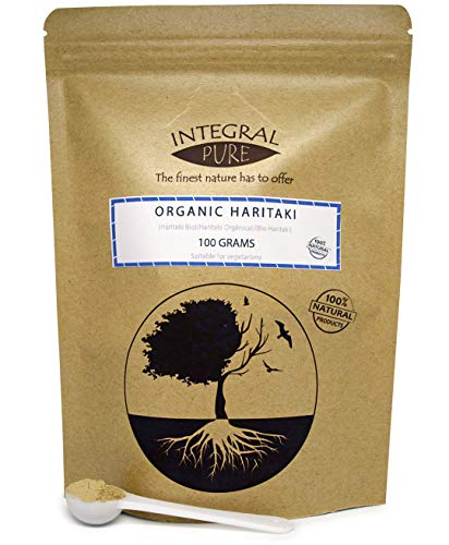 Haritaki Powder | Organic Certified (50 Grams)