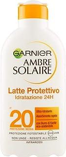 Garnier Ambre Solaire Crema Protezione Solare Idratante Ip20, 200ml