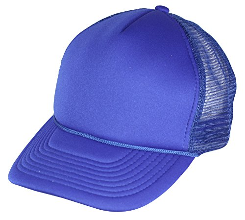 Emeco® Baseball Casquette Trucker Caps Mesh Classic truk2210 BLAU ROYAL uni