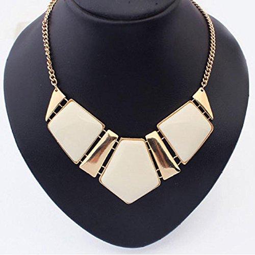 Transer Halskette, Halskette mit Edelsteinen, Vintage-Statement-Halskette, kurzer Kragen, Legierung, Anhänger.