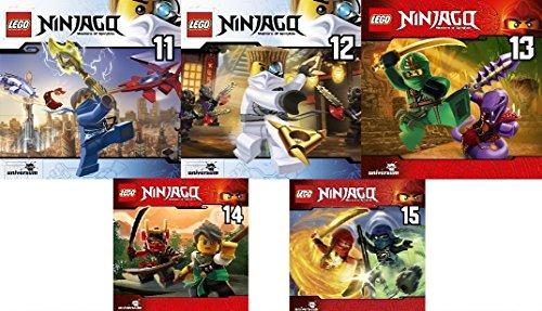 Lego Ninjago: Meister des Spinjitzu (CD 11 - 15) im Set - Deutsche Originalware [5 CDs]