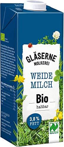 Gläserne Molkerei Bio Bio H-Vollmilch 3,8% (6 x 1 l)