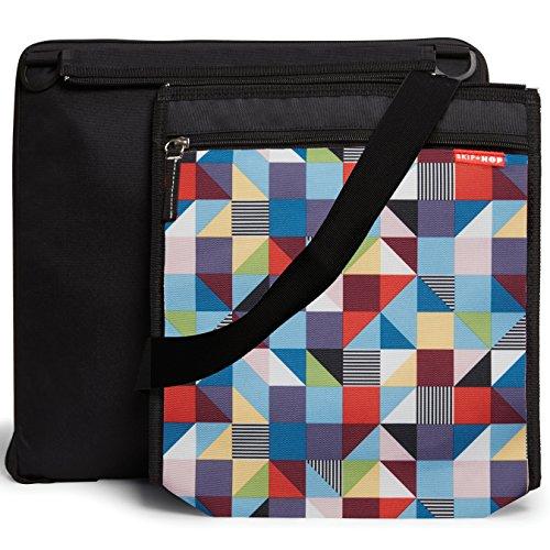 Skip Hop Central Park Outdoor Blanket & Cooler Bag, Prism, Multi (Discontinued by Manufacturer)