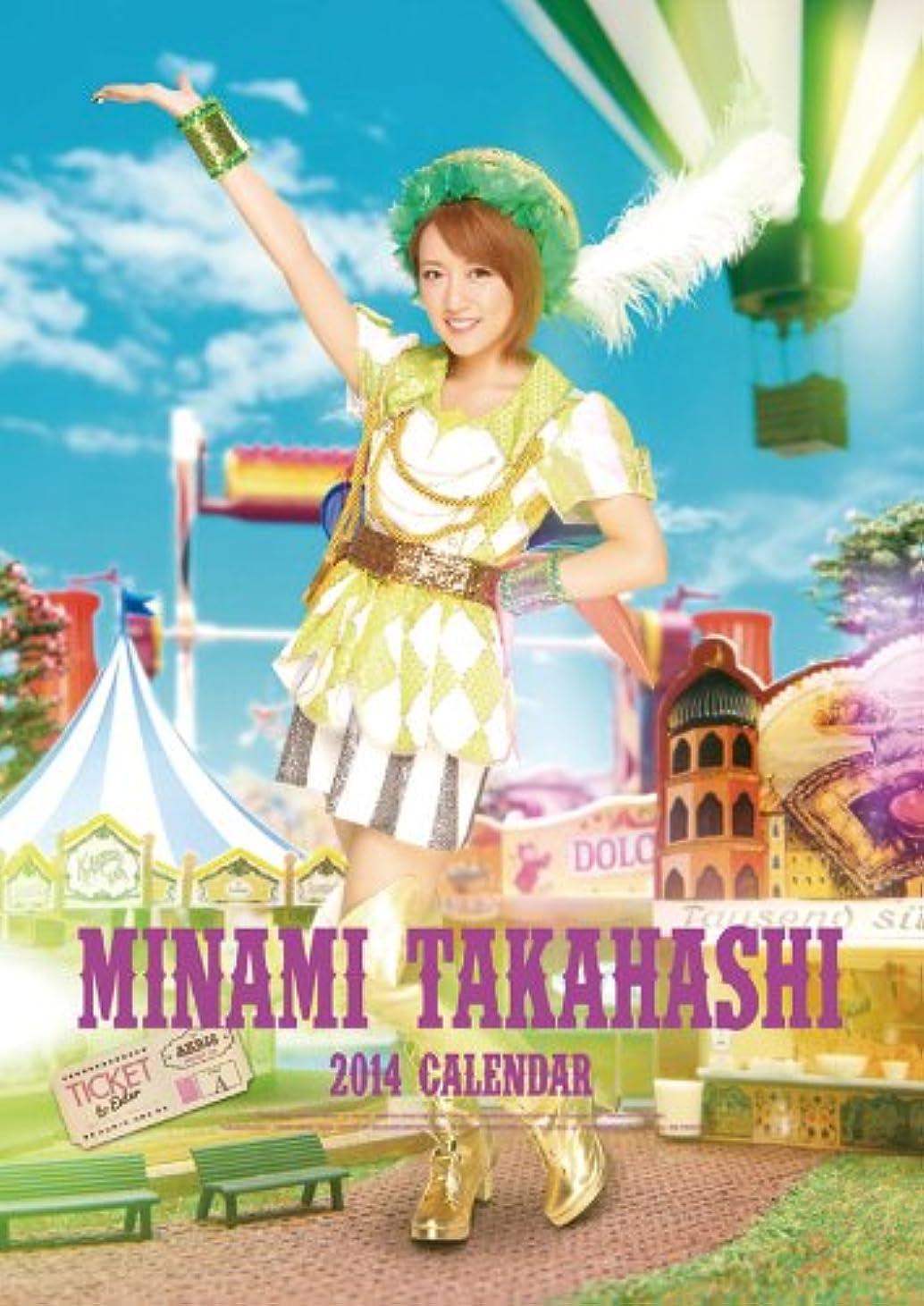 疑問を超えて収穫ペレグリネーション(壁掛)AKB48 高橋みなみ カレンダー 2014年