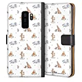 DeinDesign Étui Compatible avec Samsung Galaxy S9 Plus Étui Folio Étui magnétique Winnie...