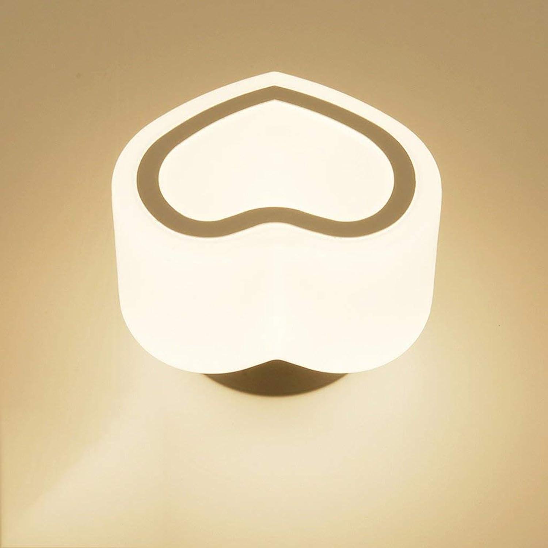 LED Deckenleuchte, Gang Beleuchtung Einfache, moderne Flur Leuchten Halle Lichter Balkon kreatives Licht Liebe Peach (Stil  A)
