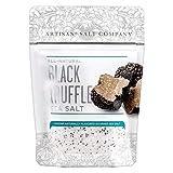 Artisan Salt Company Fusion Naturally Flavored Black Truffle Sea Salt, Zip-Top Pouch, 3.5 Ounce