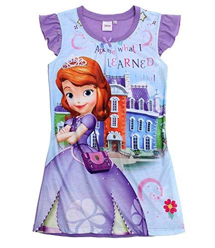 Disney Sofia die Erste Mädchen Nachthemd - violett - 92
