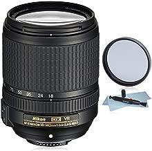 Nikon AF-S DX 18-140mm f/3.5-5.6G ED VR Lens (White Box) for Nikon DX DSLR Cameras D3100, D3200, D3300, D5100, D5200, D5300, D5500, D7000, D7100, D7200... + AUD Essential Accessory Bundle